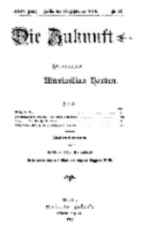 Die Zukunft, 29. September, Jahrg. XXIV, Bd. 96, Nr 52.