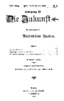 Die Zukunft, 21. Oktober, Jahrg. XXV, Bd. 97, Nr 3.