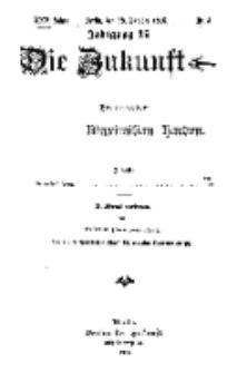 Die Zukunft, 28. Oktober, Jahrg. XXV, Bd. 97, Nr 4.