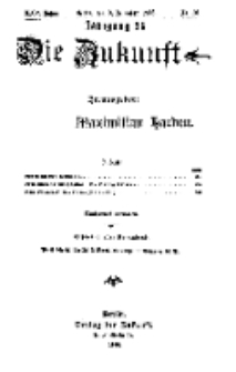 Die Zukunft, 9. Dezember, Jahrg. XXV, Bd. 97, Nr 10.