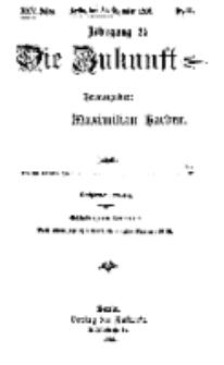 Die Zukunft, 30. Dezember, Jahrg. XXV, Bd. 97, Nr 13.