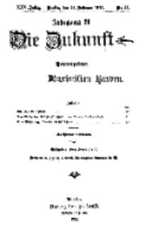 Die Zukunft, 24. Februar, Jahrg. XXV, Bd. 98, Nr 21.