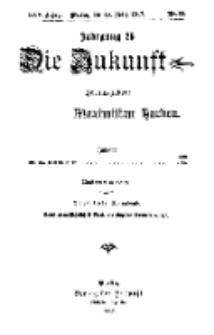 Die Zukunft, 10. März, Jahrg. XXV, Bd. 98, Nr 23.