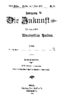 Die Zukunft, 5. Mai, Jahrg. XXV, Bd. 99, Nr 31.