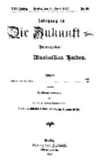 Die Zukunft, 30. Juni, Jahrg. XXV, Bd. 99, Nr 39.