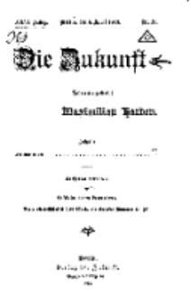 Die Zukunft, 6. April, Jahrg. XXVI, Bd. 101, Nr 19.
