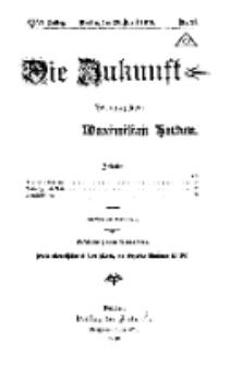 Die Zukunft, 20. April, Jahrg. XXVI, Bd. 101, Nr 21.