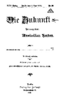 Die Zukunft, 22. Juni, Jahrg. XXVI, Bd. 101, Nr 30.