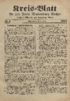 Kreis-Blatt für den Kreis Marienburg Westpreussen, 9. Januar, Nr 2.