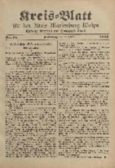 Kreis-Blatt für den Kreis Marienburg Westpreussen, 20. Februar, Nr 14.