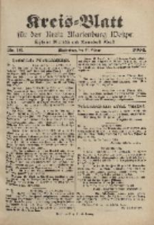 Kreis-Blatt für den Kreis Marienburg Westpreussen, 27. Februar, Nr 16.