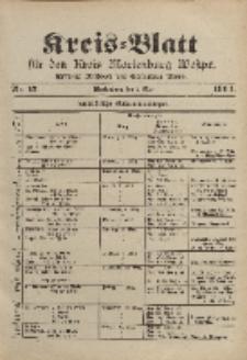 Kreis-Blatt für den Kreis Marienburg Westpreussen, 2. März, Nr 17.