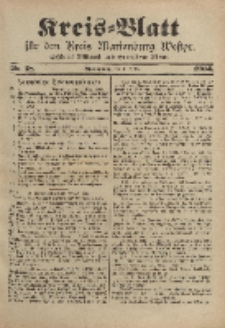 Kreis-Blatt für den Kreis Marienburg Westpreussen, 5. März, Nr 18.