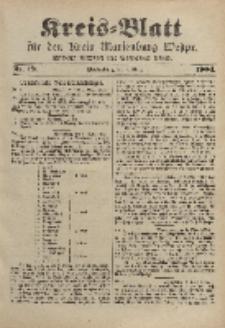Kreis-Blatt für den Kreis Marienburg Westpreussen, 9. März, Nr 19.