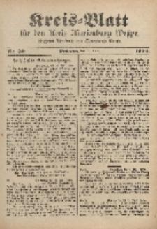 Kreis-Blatt für den Kreis Marienburg Westpreussen, 16. April, Nr 30.