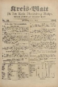 Kreis-Blatt für den Kreis Marienburg Westpreussen, 27. April, Nr 33.