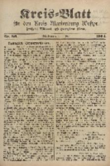 Kreis-Blatt für den Kreis Marienburg Westpreussen, 4. Mai, Nr 36.