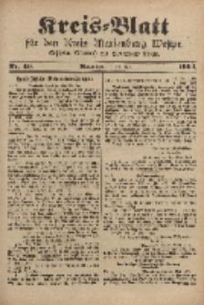Kreis-Blatt für den Kreis Marienburg Westpreussen, 18. Mai, Nr 40.