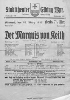 Der Marquis von Keith - Franz Wedekind