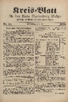 Kreis-Blatt für den Kreis Marienburg Westpreussen, 1. Juni, Nr 44.