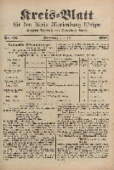 Kreis-Blatt für den Kreis Marienburg Westpreussen, 8. Juni, Nr 46.