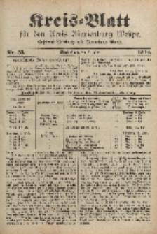 Kreis-Blatt für den Kreis Marienburg Westpreussen, 25. Juni, Nr 51.