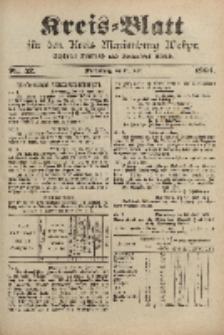 Kreis-Blatt für den Kreis Marienburg Westpreussen, 29. Juni, Nr 52.