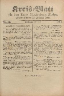 Kreis-Blatt für den Kreis Marienburg Westpreussen, 2. Juli, Nr 53.