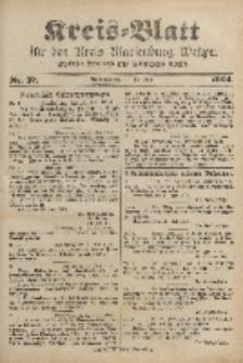 Kreis-Blatt für den Kreis Marienburg Westpreussen, 16. Juli, Nr 57.