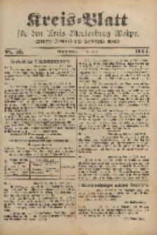 Kreis-Blatt für den Kreis Marienburg Westpreussen, 23. Juli, Nr 59.