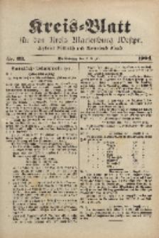 Kreis-Blatt für den Kreis Marienburg Westpreussen, 6. August, Nr 63.