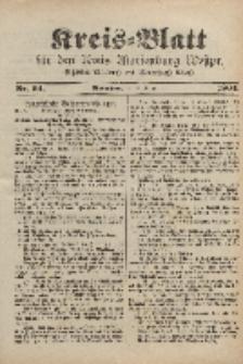 Kreis-Blatt für den Kreis Marienburg Westpreussen, 10. August, Nr 64.