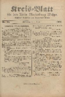 Kreis-Blatt für den Kreis Marienburg Westpreussen, 17. August, Nr 66.