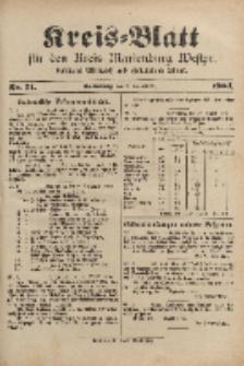 Kreis-Blatt für den Kreis Marienburg Westpreussen, 3. September, Nr 71.