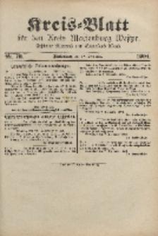 Kreis-Blatt für den Kreis Marienburg Westpreussen, 10. September, Nr 73.
