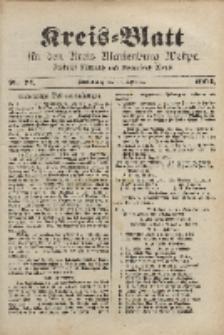 Kreis-Blatt für den Kreis Marienburg Westpreussen, 14. September, Nr 74.