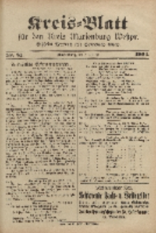 Kreis-Blatt für den Kreis Marienburg Westpreussen, 8. Oktober, Nr 81.
