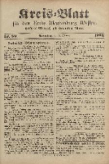 Kreis-Blatt für den Kreis Marienburg Westpreussen, 12. Oktober, Nr 82.
