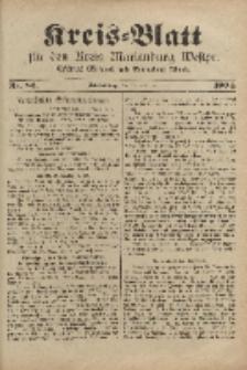 Kreis-Blatt für den Kreis Marienburg Westpreussen, 19. Oktober, Nr 83.