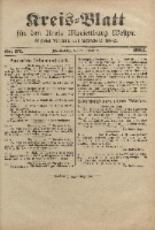 Kreis-Blatt für den Kreis Marienburg Westpreussen, 23. November, Nr 92.
