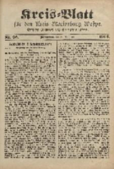 Kreis-Blatt für den Kreis Marienburg Westpreussen, 26. November, Nr 93.