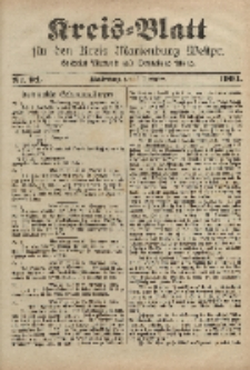 Kreis-Blatt für den Kreis Marienburg Westpreussen, 30. November, Nr 94.