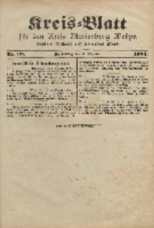 Kreis-Blatt für den Kreis Marienburg Westpreussen, 14. Dezember, Nr 98.