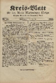 Kreis-Blatt für den Kreis Marienburg Westpreussen, 17. Dezember, Nr 99.