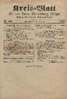 Kreis-Blatt für den Kreis Marienburg Westpreussen, 28. Dezember, Nr 102.