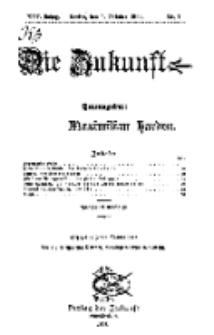 Die Zukunft, 1. Oktober, Jahrg. XIII, Bd. 49, Nr 1.