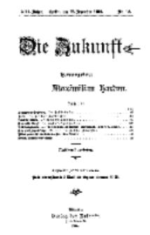 Die Zukunft, 17. Dezember, Jahrg. XIII, Bd. 49, Nr 12.