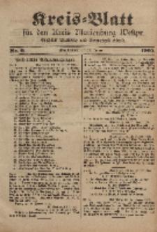 Kreis-Blatt für den Kreis Marienburg Westpreussen, 25. Januar, Nr 6.