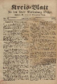 Kreis-Blatt für den Kreis Marienburg Westpreussen, 1. Februar, Nr 8.