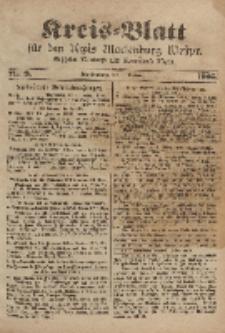Kreis-Blatt für den Kreis Marienburg Westpreussen, 4. Februar, Nr 9.